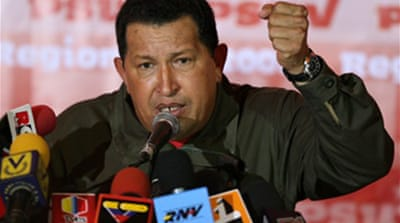 Chavez hails election victory