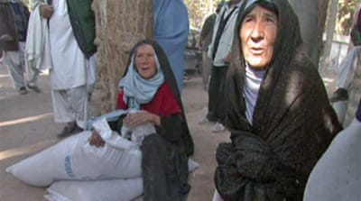 Afghanistan seeks winter food aid