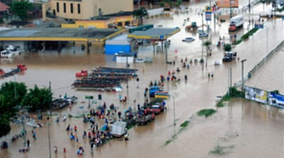 Brazil rushes aid to flood victims