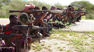Fighters overrun Somali town