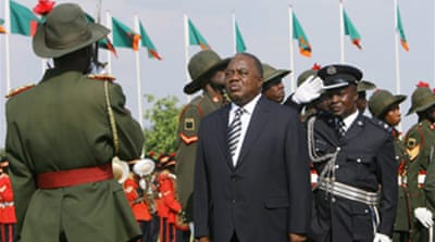 Zambia's Banda sworn in