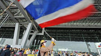 Police warning to Thai protesters