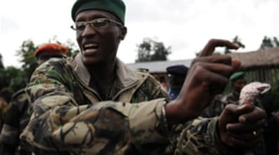 Angry DR Congo rebels threaten war
