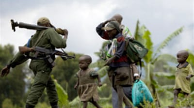Fighting resumes in DR Congo
