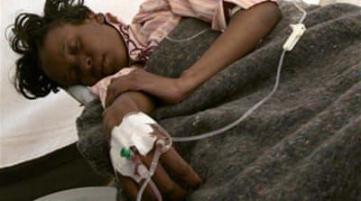 Zimbabwe cholera toll nears 800