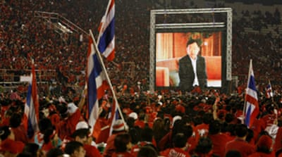 Thaksin: 'Stop army interference'