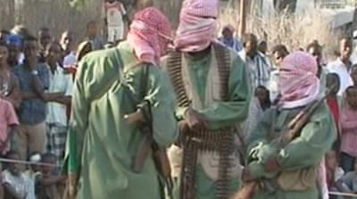 Video: Somali rebels advance