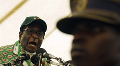Mugabe: Africans will not remove me