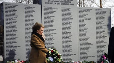Lockerbie jet blast memorials held