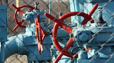 Russia warns Europe over gas supply