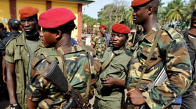 Guinea boosts security after attack