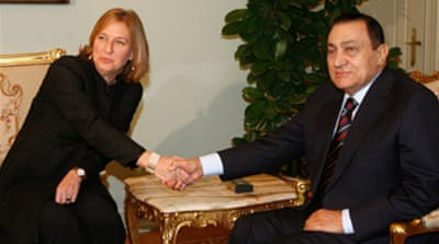 Livni hints at Gaza military action