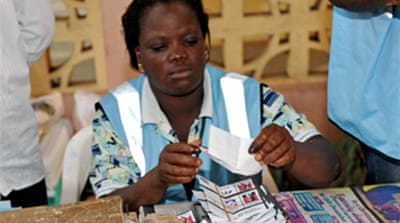 Opposition leads Ghana vote count