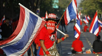 Thai protesters keep pressure on PM