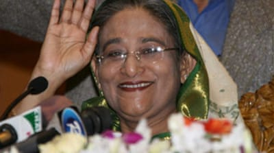 Hasina offers to share power