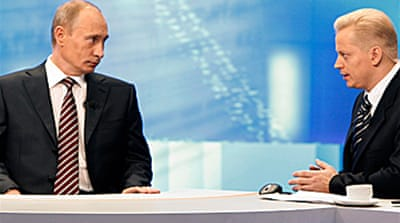 Putin vows quick economic recovery