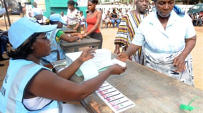 High turnout in Ghana election