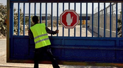 Gaza crossings open 'temporarily'