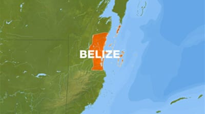 Tropical Storm Alex hits Belize