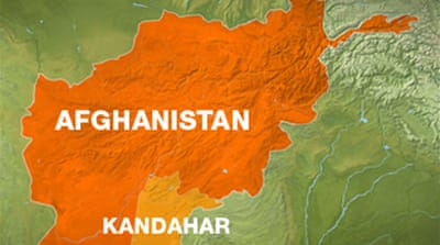 Bomber hits Afghan district office