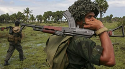 Sri Lanka claims '5000 LTTE deaths'