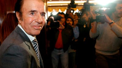 Argentine ex-president charged