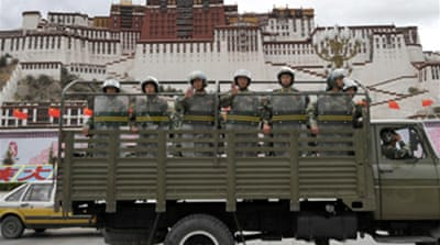 Security high for Tibet torch relay