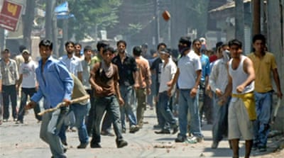 Kashmir protests turn violent