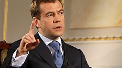 Medvedev seeks 'pact' with Europe