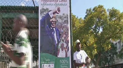 Video: Zimbabwe's 'sham' vote
