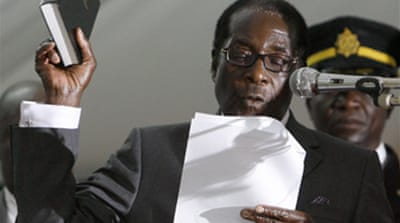 African body scorns Mugabe win