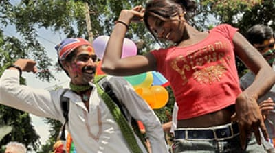 Gay pride parades hit Indian cities