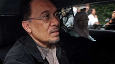 Anwar arrested on sex charges