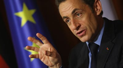 Sarkozy back in Moscow over Georgia