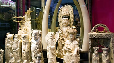 UN permits China to import ivory