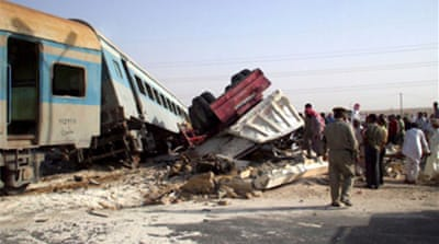 Scores dead in Egypt train crash