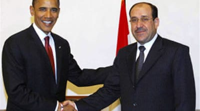 Obama meets Iraqi PM in Baghdad