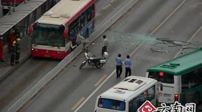 Deadly bus blasts hit Chinese city