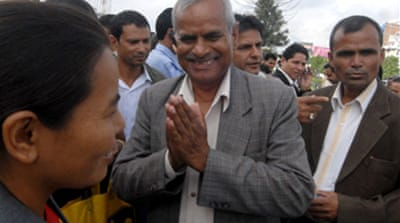 Nepal holds presidential run-off