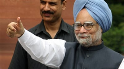 India faces confidence vote