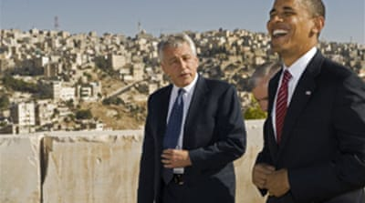 Obama visits Jordan for talks