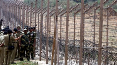 India reports 'border shooting'