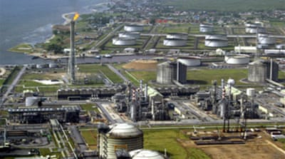 Shell reduces production in Nigeria