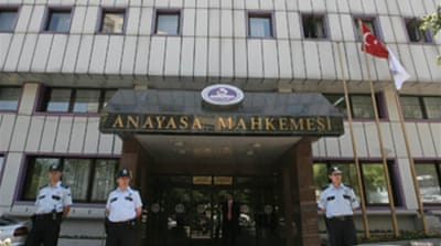 Turkey's AK party in court defence