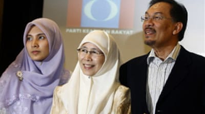 Malaysia's Anwar to contest poll