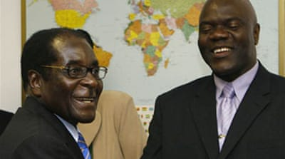 Mugabe meets opposition faction