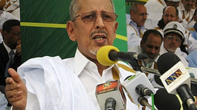 Mauritania leader in democracy vow