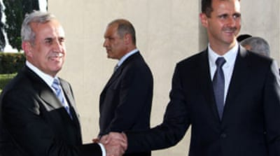 Syria and Lebanon formalise ties