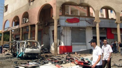 Deaths in two Algeria blasts