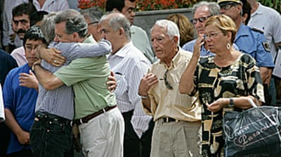 Spain grieves for air crash victims